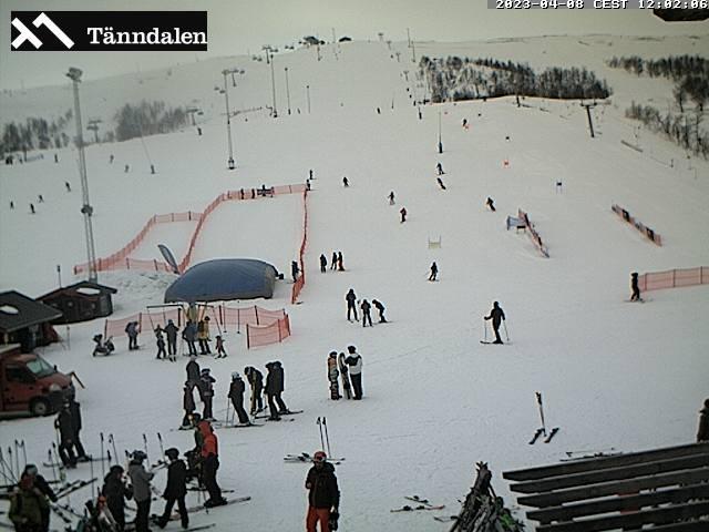 Webcam Funäsdalsberget från Fjällkällan